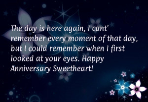 Anniversary love quotes for her