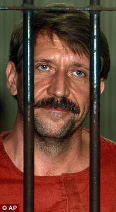 Terror plot: Arms dealer Viktor Bout has been convicted thanks to star ...
