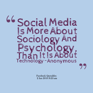 Great Social Media Quotes!