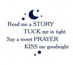 Read Me a Story Vinyl Wall Decal for Girl Boy Baby Nursery Wall Quote ...