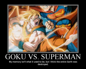 Goku vs Superman Image