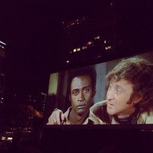Blazing Saddles Quote-Along in the park at the Rolling Roadshow!