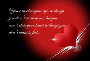 ... like a never ending flame of eternity. Miss you. Happy Valentines Day
