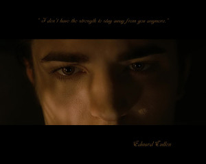 Edward Cullen Wallpaper Quote 2 by Maysa2010