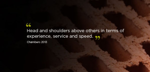 Head and shoulders above others in terms of experience, service and ...
