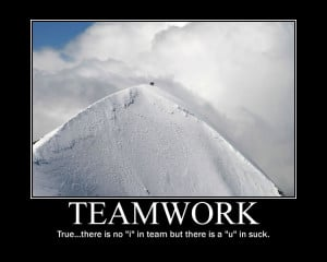 Funny Teamwork Quotes