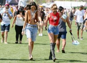 Coachella 2015 Kendall Jenner