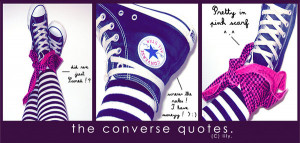 Converse Quotes The converse quotes. by