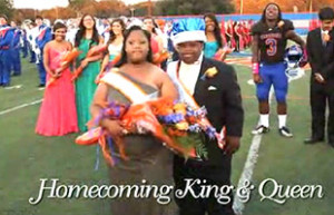 ... Down syndrome have been elected homecoming king and queen by their