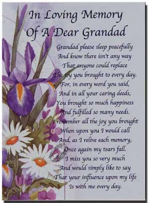 you grandpa poems for my grandpa love and miss day poems for grandpa ...