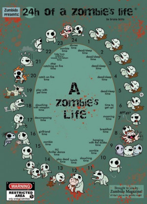 zombie life cycle - Zombie Life Cycle