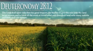 Bible Verses On Blessings Deuteronomy 28:12 Spring Landscape HD ...