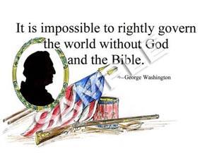 Washington Quote (Matted Print)