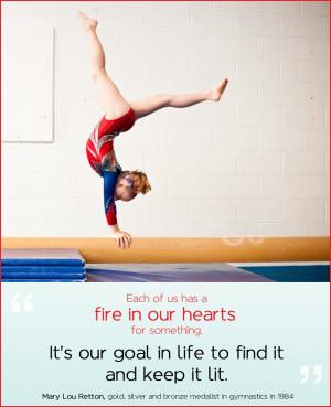 Gymnastics Team Quotes