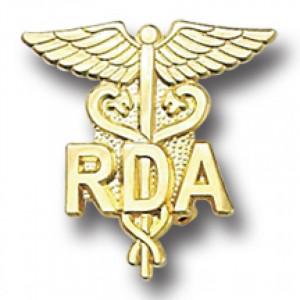 Home > Medical > Dental > RDA Lapel Pin Registered Dental Assistant ...
