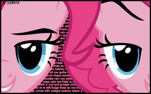Pinkie Pie Quotes Wallpaper by DrModnar
