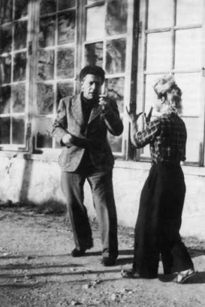 Jacqueline & André Breton, 1935