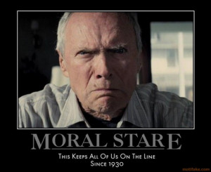 CLINT EASTWOOD MOTIVATIONAL POSTER