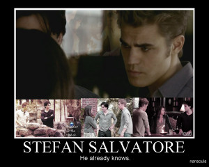 Damon & Bonnie New Motivational Pic: Stefan Salvatore