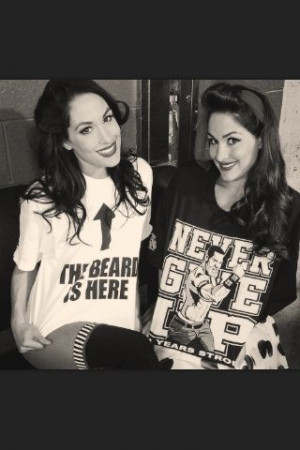 The Bella Twins. I don't watch wrestling, but got addicted to Total ...