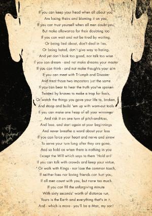 Rudyard Kipling If Poem