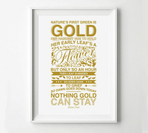 The Outsiders Movie Poster Robert Frost Poem - Movie Poster ...