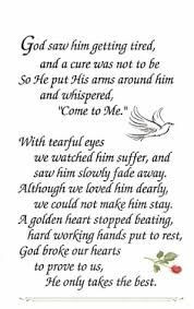 For my grandfather today is his death anniversity, may God rest his ...