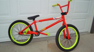 Sunday Funday Pro 2010 Bmx Bike For Sale