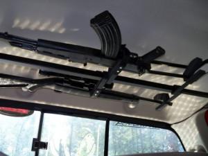 Pickup Truck Gun Racks