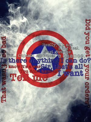 Captain America - Steve's quotes by MissDrakkainen