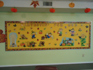 Harvesting For God Bulletin Board