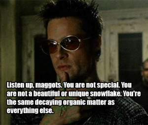 ... June 14th, 2013 One comment so far azmanual Fight Club quotes , movie