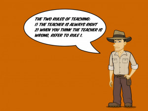"""Download Free Wallpaper – """"Two Rules of Teaching"""""""