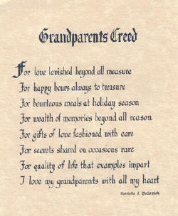 Grandparents poems and quotes. ~ Poem by Thena Smith~. GRANDPARENTS ...