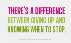 ... 2027: There's a difference between giving up and knowing when to stop