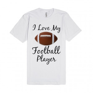 love my football player