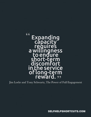 quotes about short cuts 3375 in the power of full engagement quotes ...