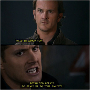 Gabriel and Dean | Supernatural quotes