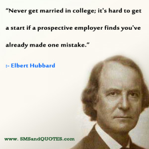 marriage quotes never get married in college