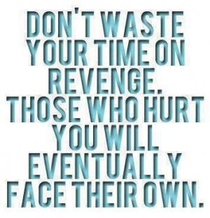 Revenge is God's