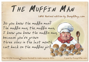 Top 10 Old Nursery Rhymes Revised- The Muffin Man