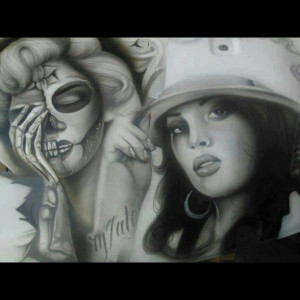 Chola Girl Art Chicanoart