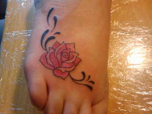 Pictures of Foot Tattoos For Women
