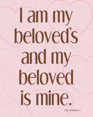 My kids have this verse from Song of Solomon engraved in Hebrew on ...