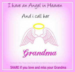 Miss you Grandma Hahn... everyday.