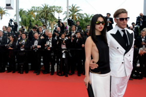 ... di occasione per il Festival di Cannes, l'attrice cinese Zhu Zhu