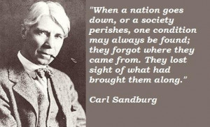 Carl sandburg famous quotes 4