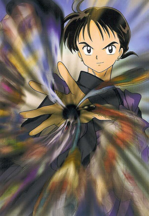 this is Miroku, as portrayed in the anime