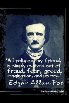Edgar Allan Poe was dishonorably discharged from the army. His wife ...