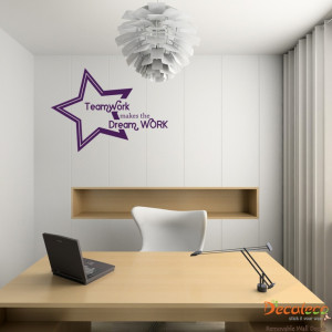 office look contemporary, install this Modern Art office wall decal ...